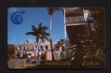 Phonecard Telephone card D1 Antigua Trial very RARE